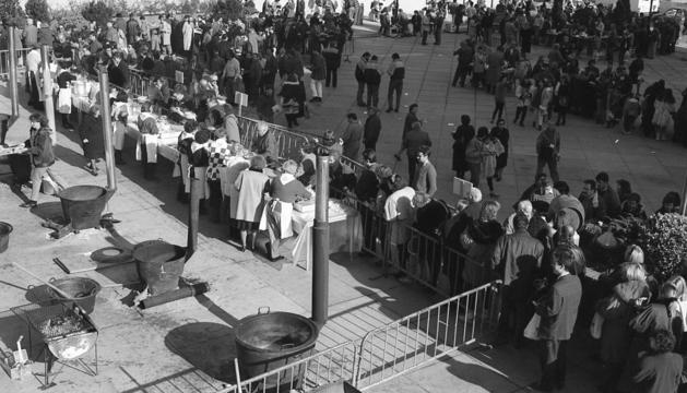 La tradició per festejar el patró ha quallat des del principi