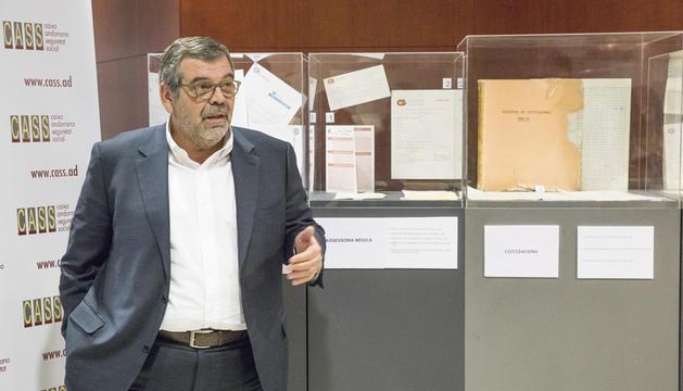 El president del consell d'administració, Jean Michel Rascagneres