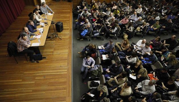 Assemblea general convocada pels sindicats de la Funció Pública