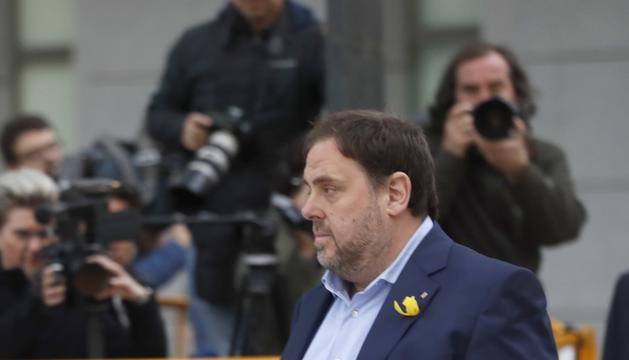 El president d'ERC, Oriol Junqueras.