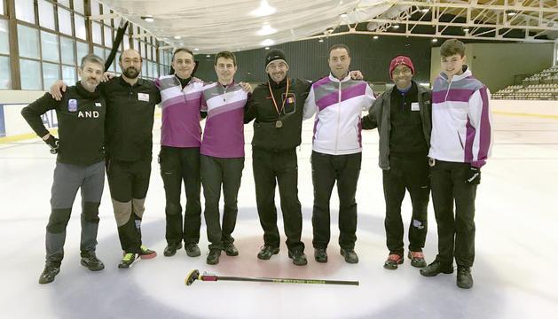 L'equip andorrà desplaçat a Viella per al Campionat d'Espanya B.