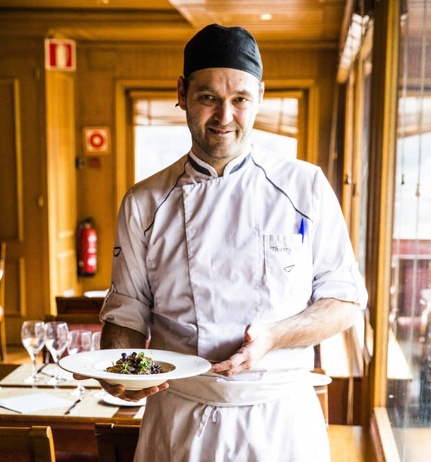 Thierry Melter és el cuiner d'Abba Xalet Suites Hotel