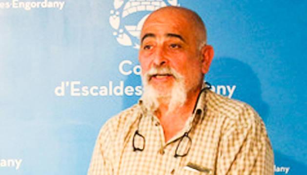 El conseller d'Escaldes-Engordany Didier Aleix.