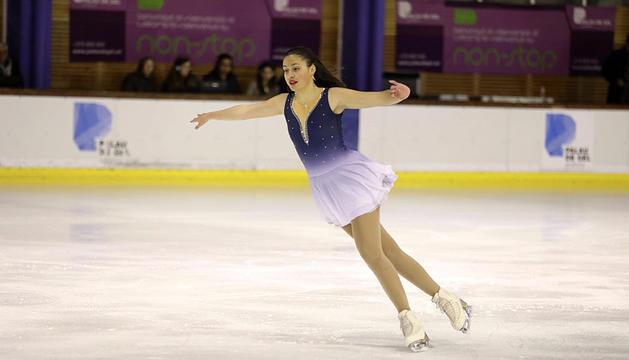La patinadora Tania Margarido