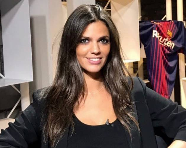 La periodista Sara Canals presenta el programa Inside Barça