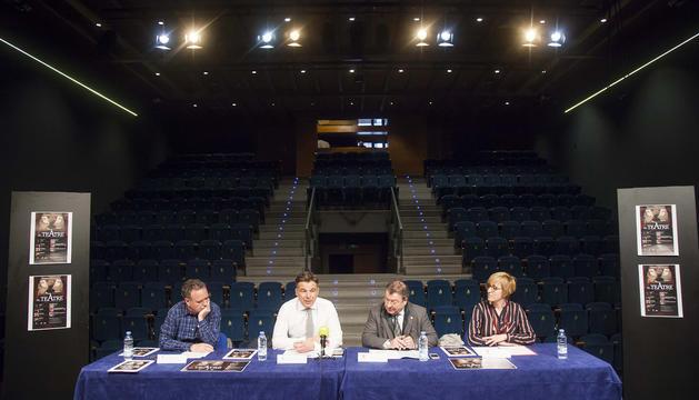 Presentació de la Temporada de Teatre d'Andorra la Vella i Sant Julià de Lòria aquest matí