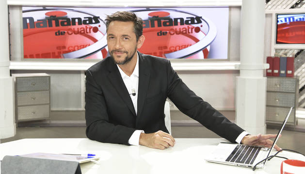 Javier Ruiz és el presentador de 'Las Mañanas de Cuatro'