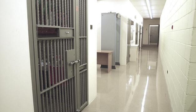 L'interior del centre penitenciari de la Comella.