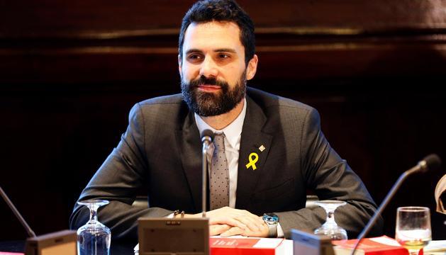 El president del Parlament de Catalunya, Roger Torrent.