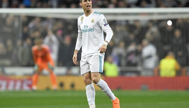 Cristiano Ronaldo va marcar els dos gols dels blancs.