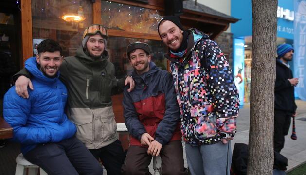 El bar Don Piacere és el punt de trobada per excel·lència dels esquiadors de Vallnord.