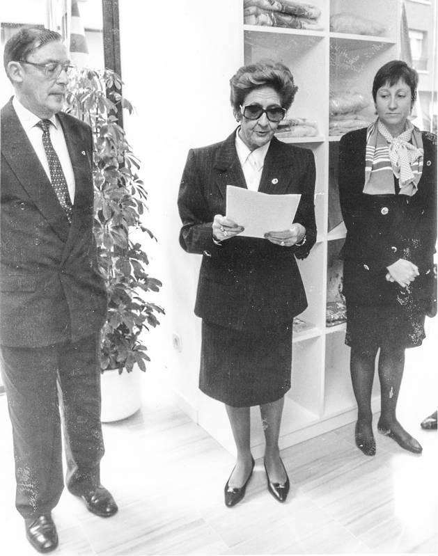 Manela Mora va ser la primera presidenta d'Unicef Andorra.