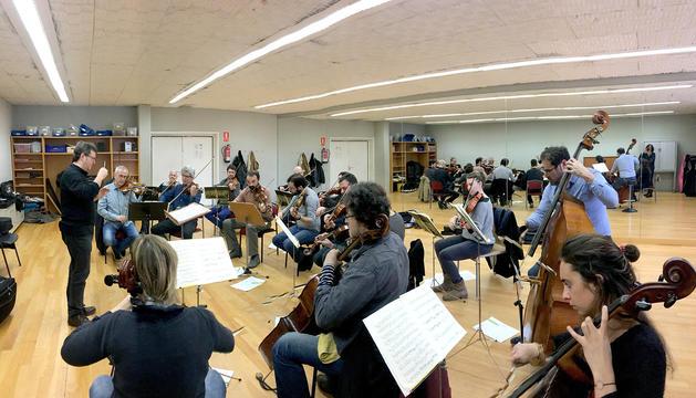 Concert de l'ONCA i Joan Enric Lluna