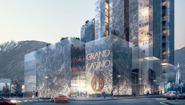 Imatge de l'edifici que construiria Genting al Clot d'Emprivat.