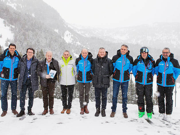 Tretze andorrans a les finals de la Copa d'Europa d'esquí