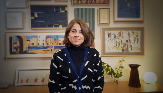 La periodista Anna Guitart