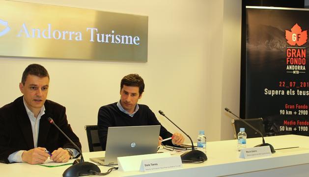 Presentació de la Gran Fondo Andorra aquesta tarda