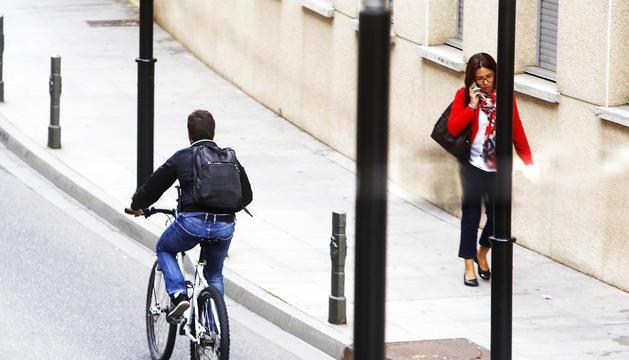 Els usuaris de la bicicleta van creixent a la capital.