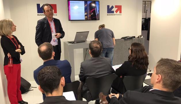 Presentació del Niu al Mobile World Congress de Barcelona