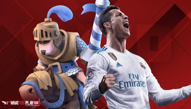 Crash Royale i Fifa18 han estat els jocs triats a la primera temporada