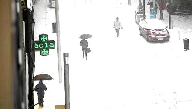 La neu ha arribat a tot el país