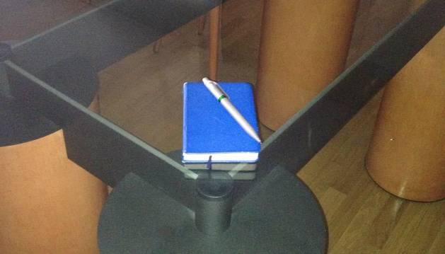 Quadern de notes, escriure en qualsevol moment i lloc