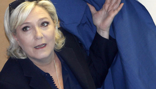 La líder del Front Nacional, Marine Le Pen.