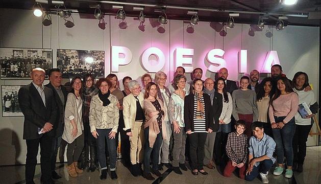 Imatge del Dia mundial de la poesia de l'any passat.