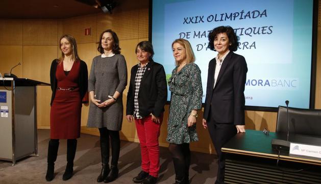 La 29a Olimpíada de matemàtiques d'Andorra s'ha presentat aquest dimarts a la seu de MoraBanc.