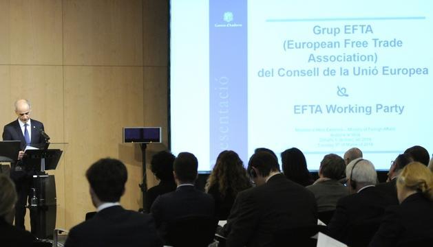 Martí ha inaugurat aquest matí la trobada de l'EFTA a Andorra