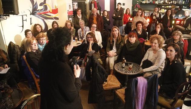 Presentació d'Acció Feminista, aquesta tarda.