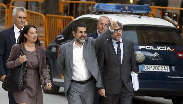 El candidat a presidir la Generalitat Jordi Sànchez.