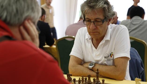El jugador d'escacs Raül Garcia