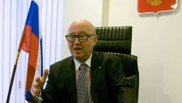 El cònsol honorari de Rússia a Andorra, Pere Joan Tomàs.