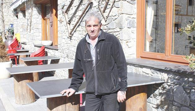 El president de l'Entitat Municipal Descentralitzada, Jordi Betriu.