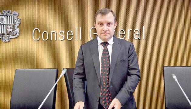 El conseller general d'UL Josep Majoral.
