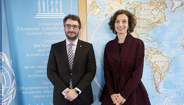 Reunió de la comissió mixta francoandorrana d'Educació celebrada a París