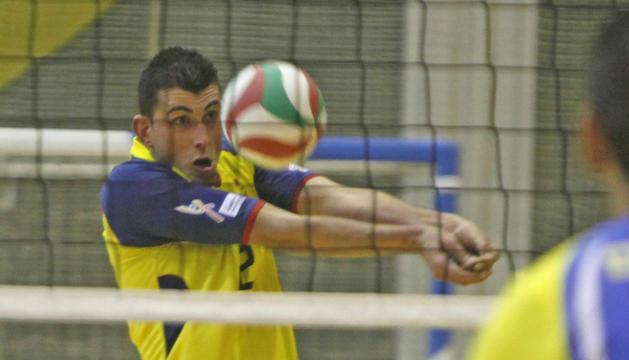 Xavier Borrego és jugador i president del CV Encamp