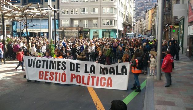Treballadors públics concentrats a la plaça Coprínceps
