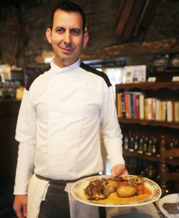 El xef del restaurant Borda Raubert, Rui Teixeira