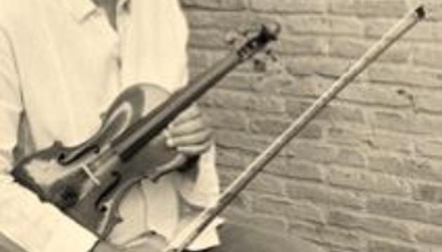 El meu violí, un Joan Guillemí fet a Barcelona l'any 1767