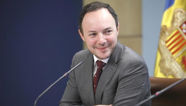 El ministre Xavier Espot.