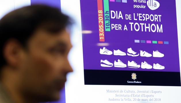 Jordi Beal ha presentat la 9a cursa del Dia de l'Esport