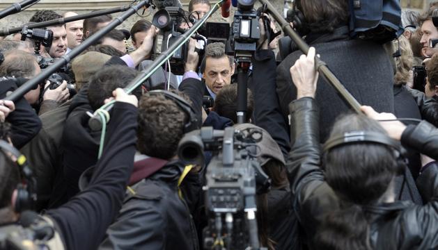 La declaració de Nicolas Sarkozy ha aixecat molt expectació