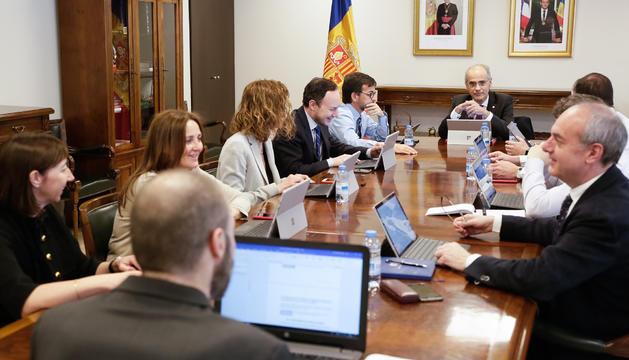 El consell de ministres celebrat aquest dimecres