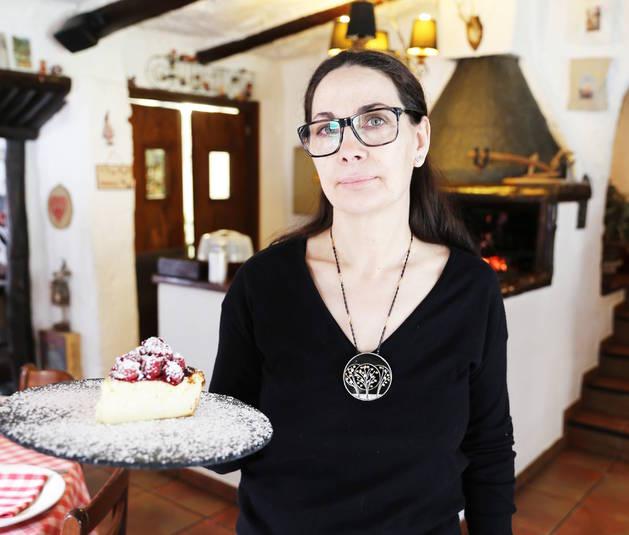 La propietaria de la Cantina dels Racons, Dina Vieira