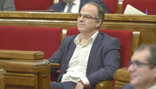 Turull pot esdevenir aquesta tarda nou president de la Generalitat.