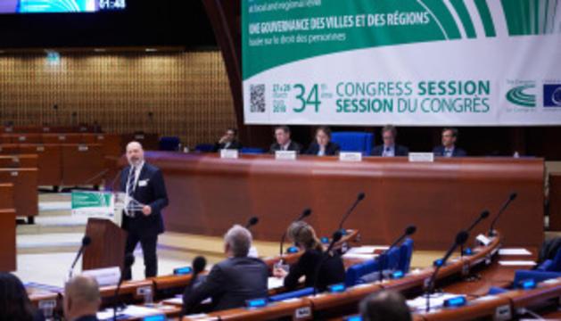 El Congrés dels poders locals del Consell d'Europa ha analitzat avui la situació d'Andorra