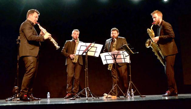 Quatuor Morphing, al Centre de Congressos.