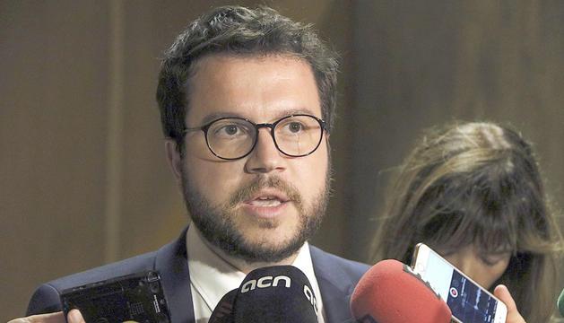 L'adjunt a la presidència d'ERC, Pere Aragonès.